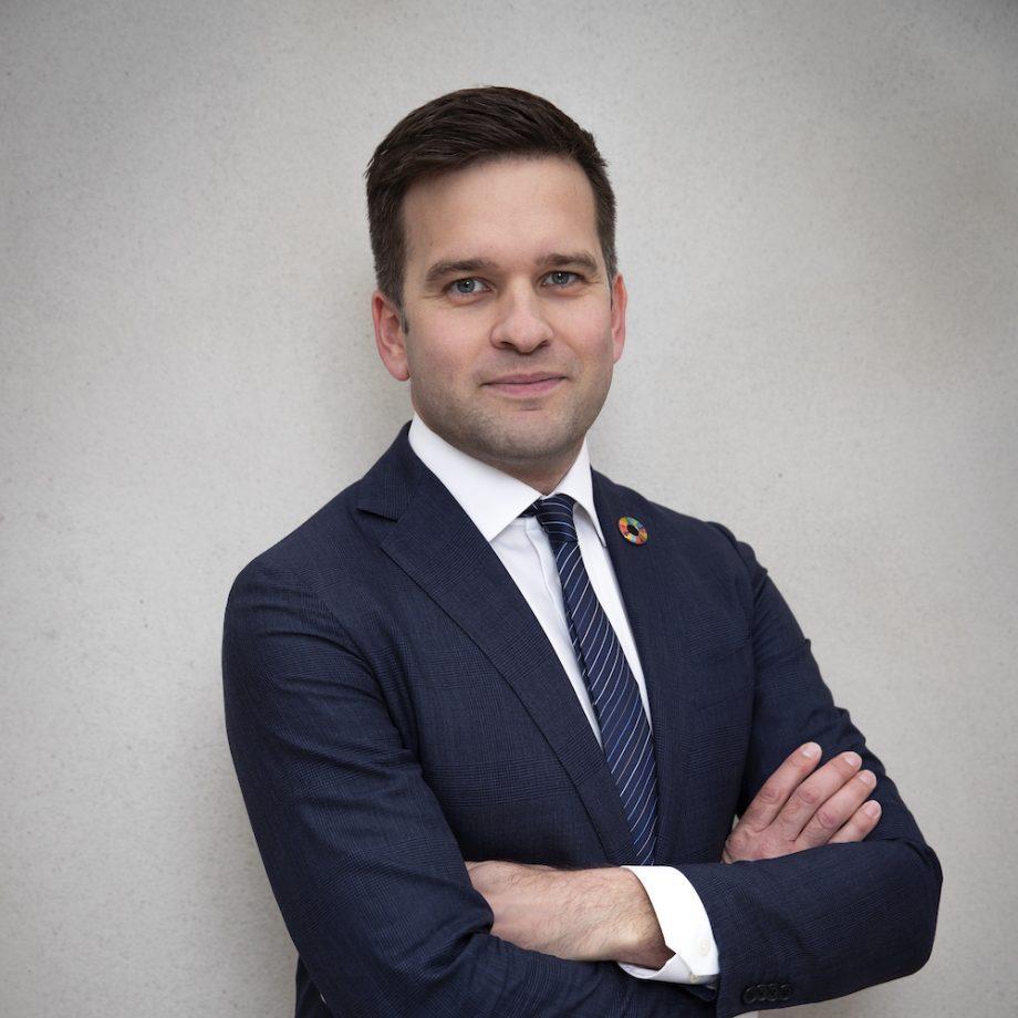 Nationell samordnare Agenda 2030 Gabriel Wikström