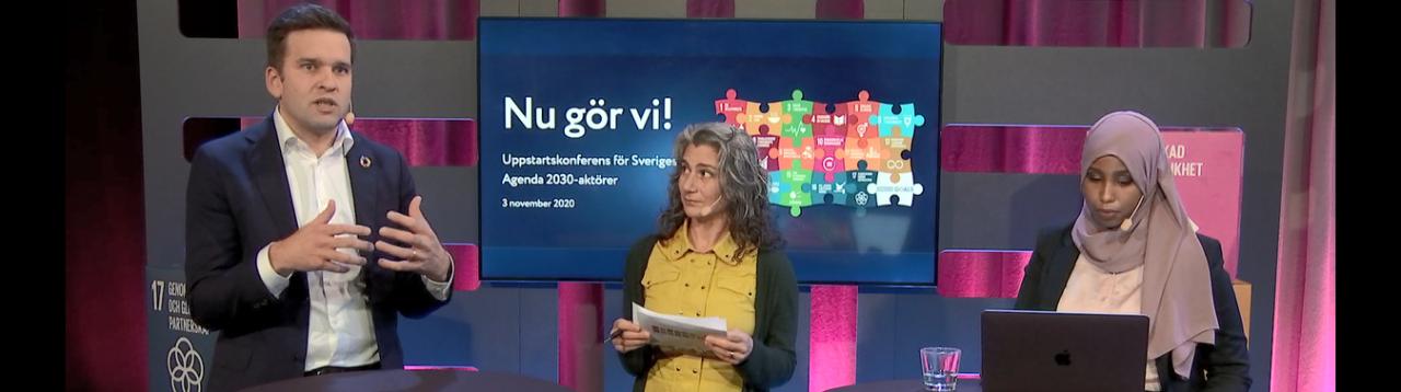 Foto uppstartskonferensen 3 nov 2020