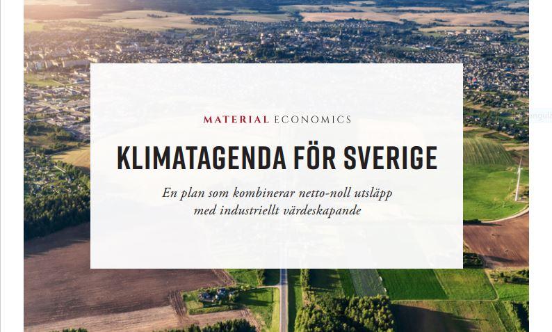 Kliamatagenda för Sverige